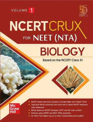 NCERT CRUX for NEET (NTA) Biology   Volume 1