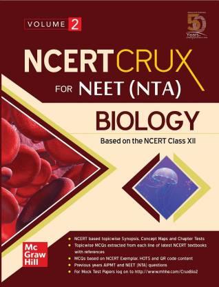NCERT CRUX for NEET (NTA) Biology   Volume 2