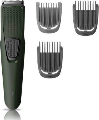 PHILIPS USB charging cordless rechargeable Beard Trimmer Series 1000 BT1212  Runtime: 30 min Trimmer for Men