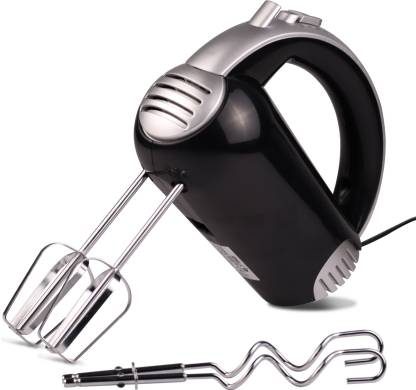 iBELL 300-Watt Hand Mixer Beater Blender Electric Cream Maker for Cakes with Base 5 Speed Control and 2 Stainless Steel Beaters. 300 W Hand Blender