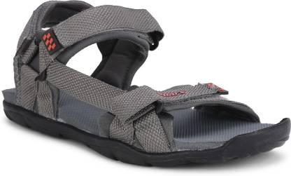 Sparx SS-474 Men Grey, Red Sandals
