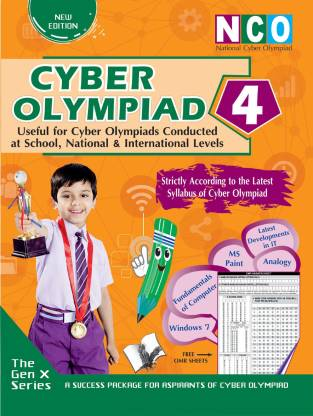 National Cyber Olympiad - Class 4 (With OMR Sheets)