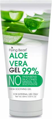 Flying Beast aloe gel ,Dark spot removal gel, natural and pure Face Wash
