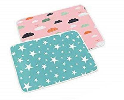 PEUBUD Cotton, PVC (Polyvinyl Chloride) Baby Bed Protecting Mat