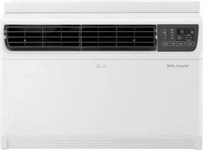 LG 2 Ton 5 Star Window Dual Inverter AC  - White