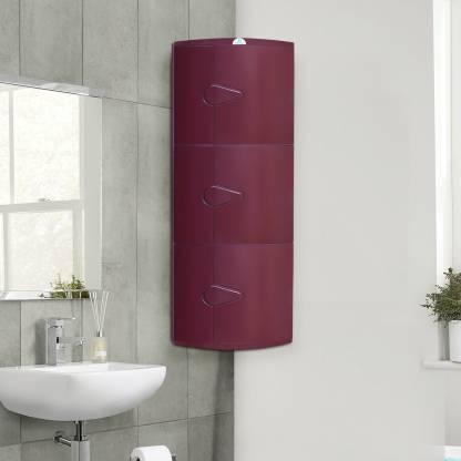 Nill Blooms Plastic Wall Mount, Plastic Wall Cabinets