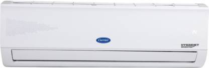 Carrier 1.5 Ton 5 Star Split Inverter AC with PM 2.5 Filter - White