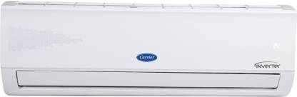 Carrier 1.2 Ton 5 Star Split Inverter AC with PM 2.5 Filter - White