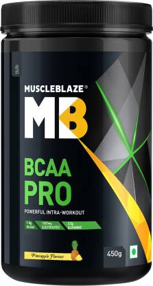 MUSCLEBLAZE BCAA PRO, Intra-Workout Formula for Muscle Recovery BCAA