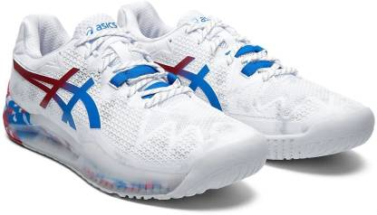 Resolution 8 Clay Limited Edition Tennis Shoes For Men(White)