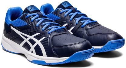 Court Slide Tennis Shoes For Men(Blue)
