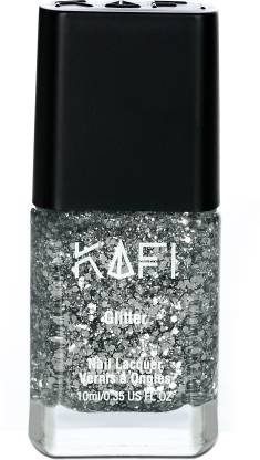 KAFI Glitter - Formulated in Luxembourg - Born With Silver Spoon (Silver)