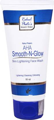 Rahul Phate's Research Product AHA Smooth-N-Glow  Face Wash