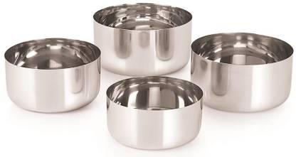 Neelam Stainless Steel 5.5 22G Sadi Vati, 200 ml, Silver, Set of 4