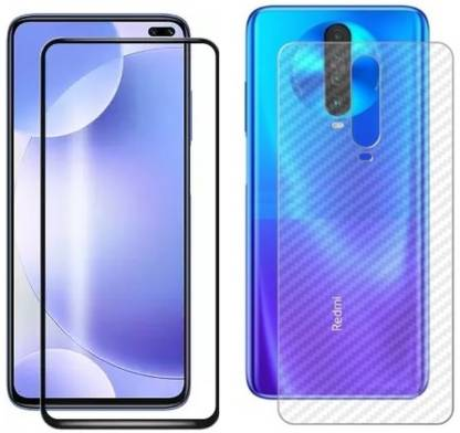 VaiMi Front and Back Tempered Glass for Poco X2