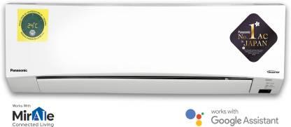 Panasonic 1.5 Ton 5 Star Split Twin Cool Inverter AC - White
