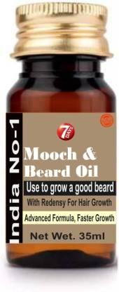 7 Days beard regrowth faster powerful oil Hair Oil