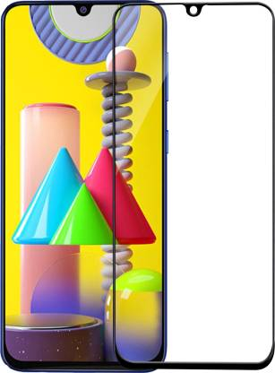 Flipkart SmartBuy Edge To Edge Tempered Glass for Samsung Galaxy M31, Samsung Galaxy F41, Samsung Galaxy M31s, Samsung Galaxy A30