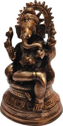 The Art Box Lord of Ganesh Ganesh Statue Ganpati Murti Ganesh Idol Decorative Showpiece  -  32 cm