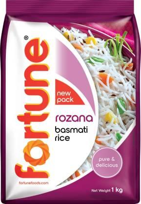 Fortune Rozana Basmati Rice (Medium Grain)