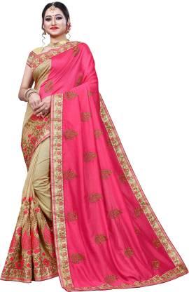 Krishna R fashion Woven Bollywood Jacquard Saree