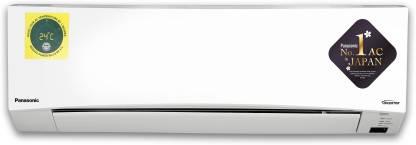 Panasonic 1.5 Ton 5 Star Split Inverter AC with PM 2.5 Filter  - White