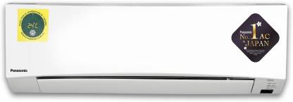 Panasonic 1.5 Ton 3 Star Split AC with PM 2.5 Filter - White (CS/CU-YN18WKYM, Alloy Condenser)