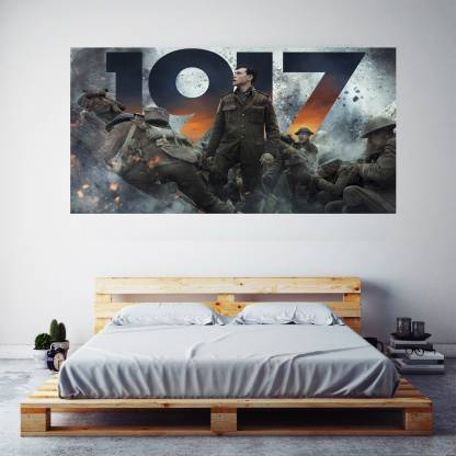 1917 War Movie Poster Frameless Large Painting On Canvas Wall Art Picture For Home Decor Wall Decor Poster For Bedroom Poster Living Room Poster Paper Print Art Paintings Posters In