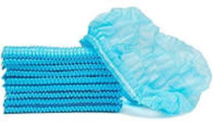 vivan surgical export and import Pack of 100 Blue Non Woven Disposable Bouffant Surgical Head Cap