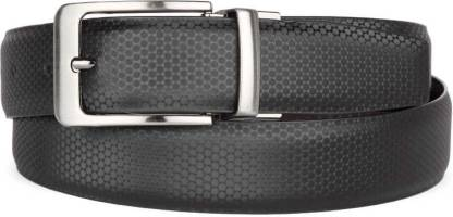 Women Casual, Party, Formal Black Artificial Leather Reversible Belt