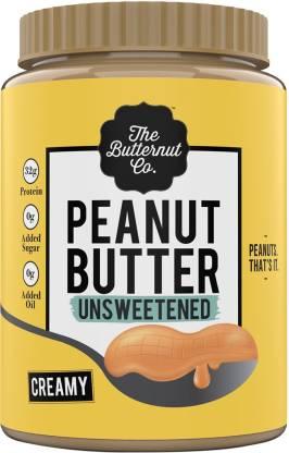 The Butternut Co. Unsweetened Peanut Butter - Creamy 1 kg