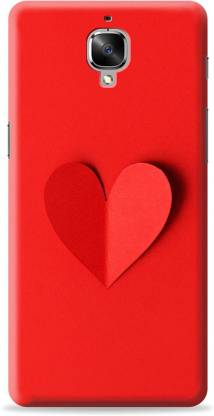 Crafter Back Cover for OnePlus 3T(Red, Shock Proof)
