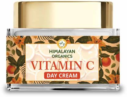 Himalayan Organics Vitamin C Face Cream for Skin Brightening and Anti Pigmentation