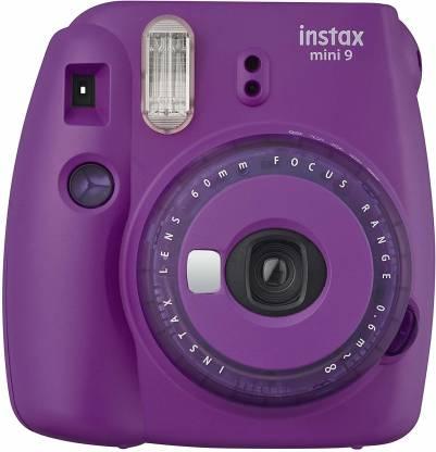 FUJIFILM Instax Mini 9 Mini 9 Purple with 20 Shots film Instant Camera