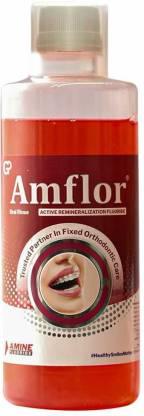 Amflor Oral Rinse Mouthwash - Mint