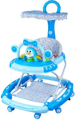 AMARDEEP Musical 3-in-1 Walker With Parent Rod