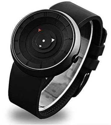 BRAIN SH-64 New Latest Design Unique Arrow Silicon Strap Analog Watch - For Men