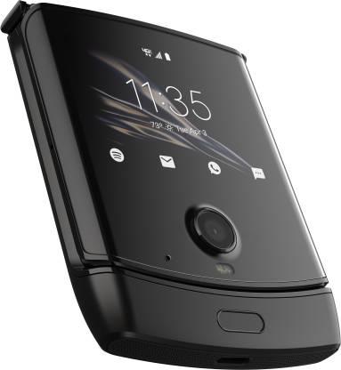 Motorola Razr (Black, 128 GB)  (6 GB RAM) No cost EMI