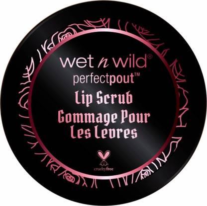Wet n Wild Perfect Pout Lip Scrub, Red, 10 g Scrub