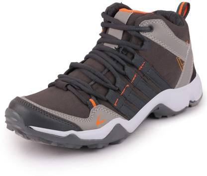 Outdoor Shoes/Hiking shoes/Trekking Shoes/GYM shoes Hiking & Trekking Shoes For Men  (Grey, Orange)