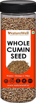 Naturewell Cumin seeds , Jeera , Jeera Sabut , Whole Cumin Seeds