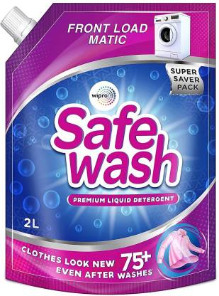 Safewash Front Load Matic For MACHINE WASH Liquid Detergent