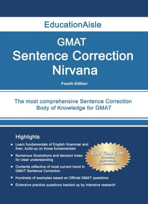 GMAT Sentence Correction Nirvana