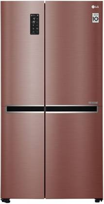 LG 687 L Direct Cool Side by Side Refrigerator