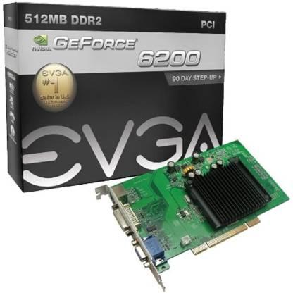 EVGA NVIDIA ASINB001V9LQC0 512 MB DDR2 Graphics Card