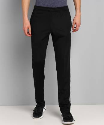 REEBOK Solid Men Black Track Pants