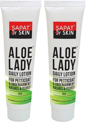 Sapat Aloe Lady Daily Lotion for Undergarment Rashes and Itches