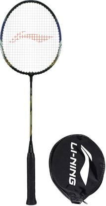 LI-NING XP-70-IV Black, Blue, Gold Strung Badminton Racquet