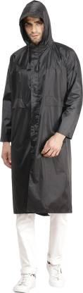 Solid Men & Women Raincoat