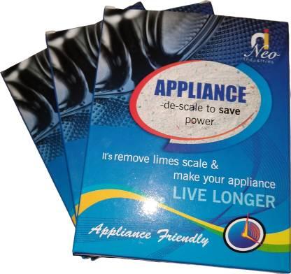 APPLIANCE-DE-SCALE WASHING MACHINE DESCALER Detergent Powder